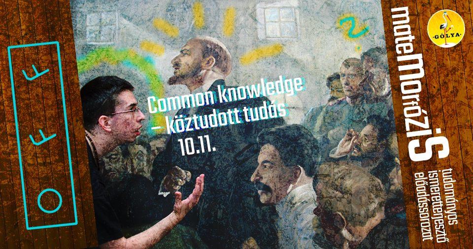 Common knowledge – köztudott tudás (OFF Biennále)